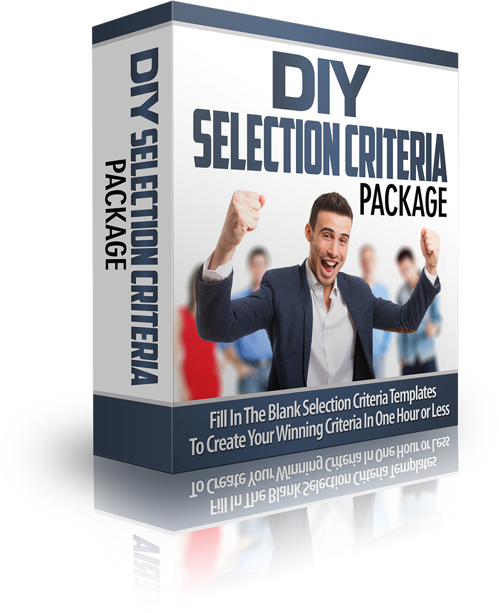 DIY Selection Criteria Package