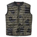 'NO' GREEN EARTH CAMO GILET