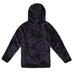 'NO' BLACK & PURPLE PULLOVER FLEECE