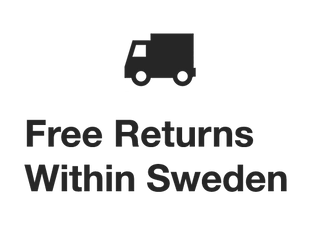 Free Returns Within Sweden.