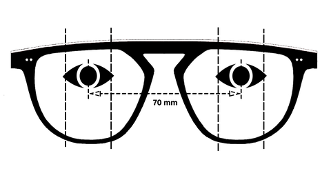 wayward sunglasses measurement eye positioning