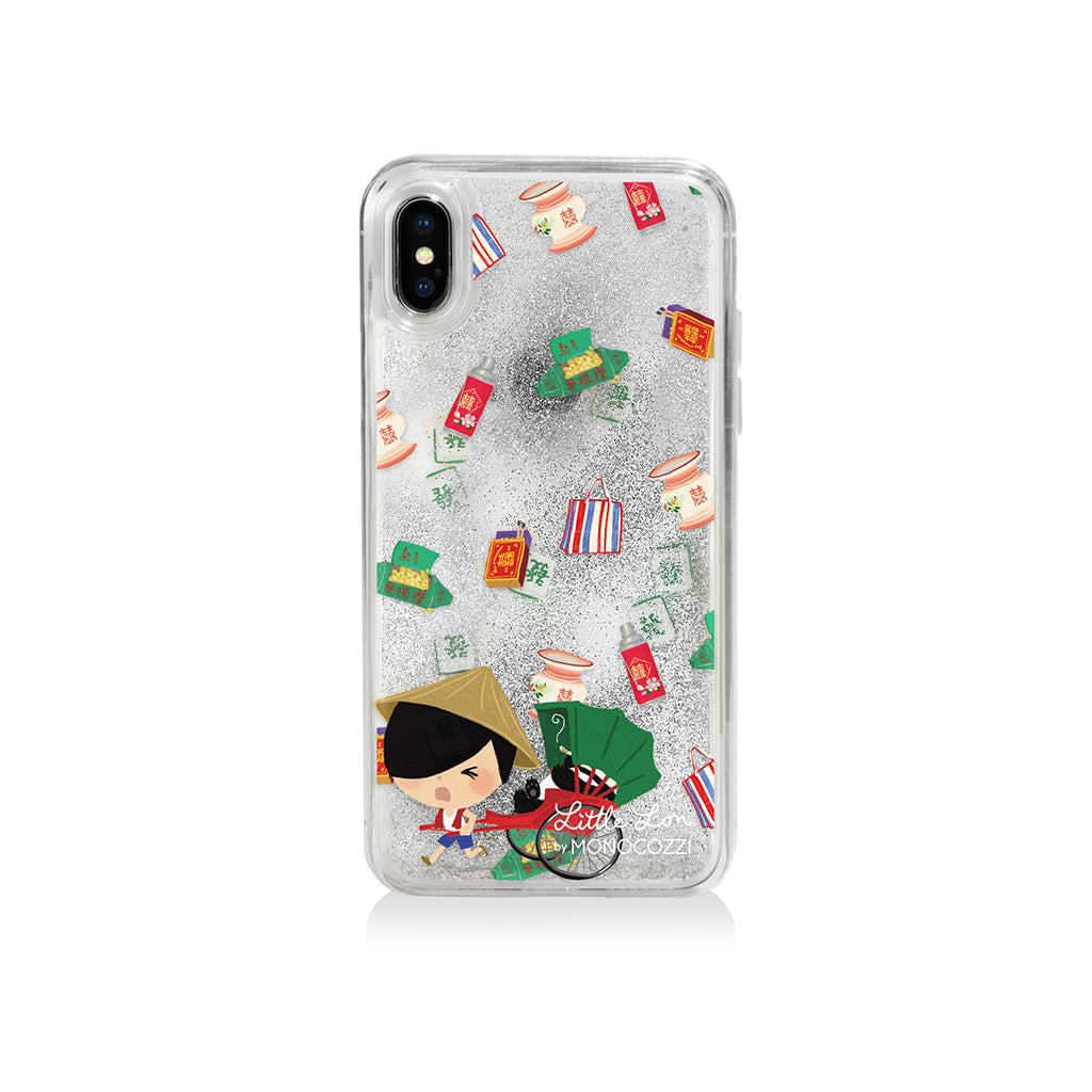 Pattern Lab x Little Lon | Liquid Glitter Case for iPhone XS -  Rickshaw