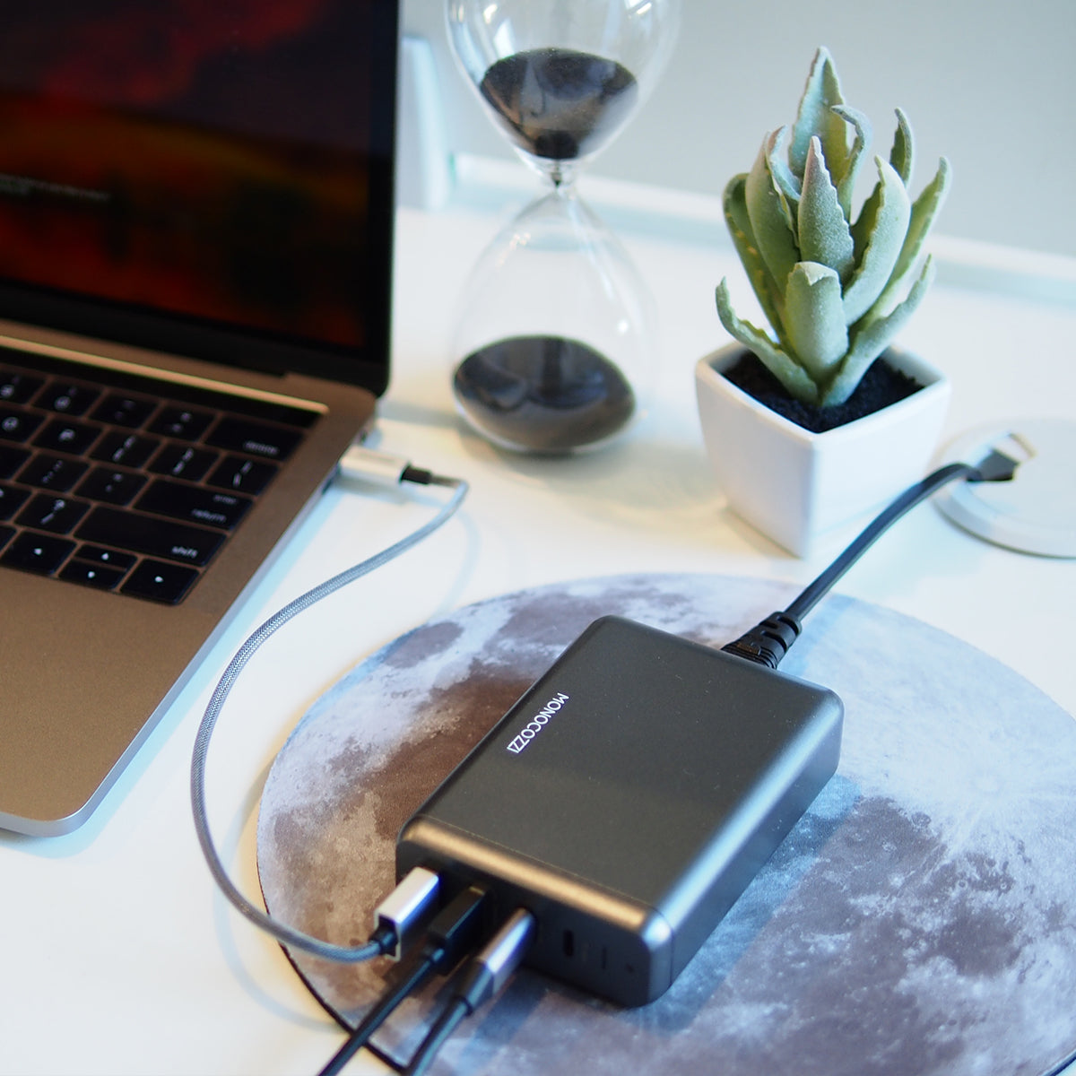 Moxie | 75W Power Cuboid (Supports USB-C Fast Charge)
