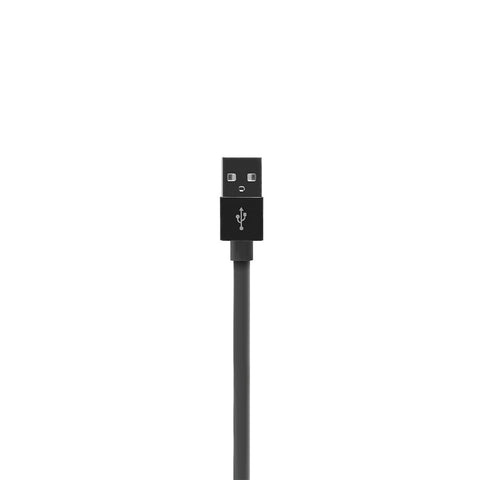 ALUMFLAT | USB Sync and Charge Cable with Lightning connector (100cm) - Black