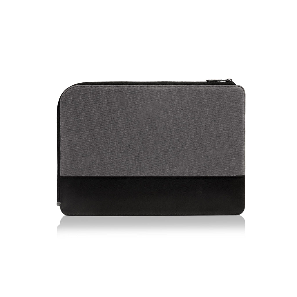 "GRITTY | Ultra Slim Sleeve for MacBook Pro  13"" w/ usb-c & Macbook 12"" -  Charcoal"