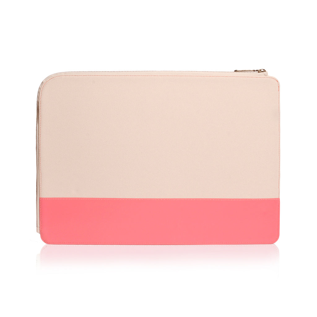 "GRITTY | Ultra Slim Sleeve for MacBook Pro 15"" w/ USB-C & MacBook Air 13"" - Coral"
