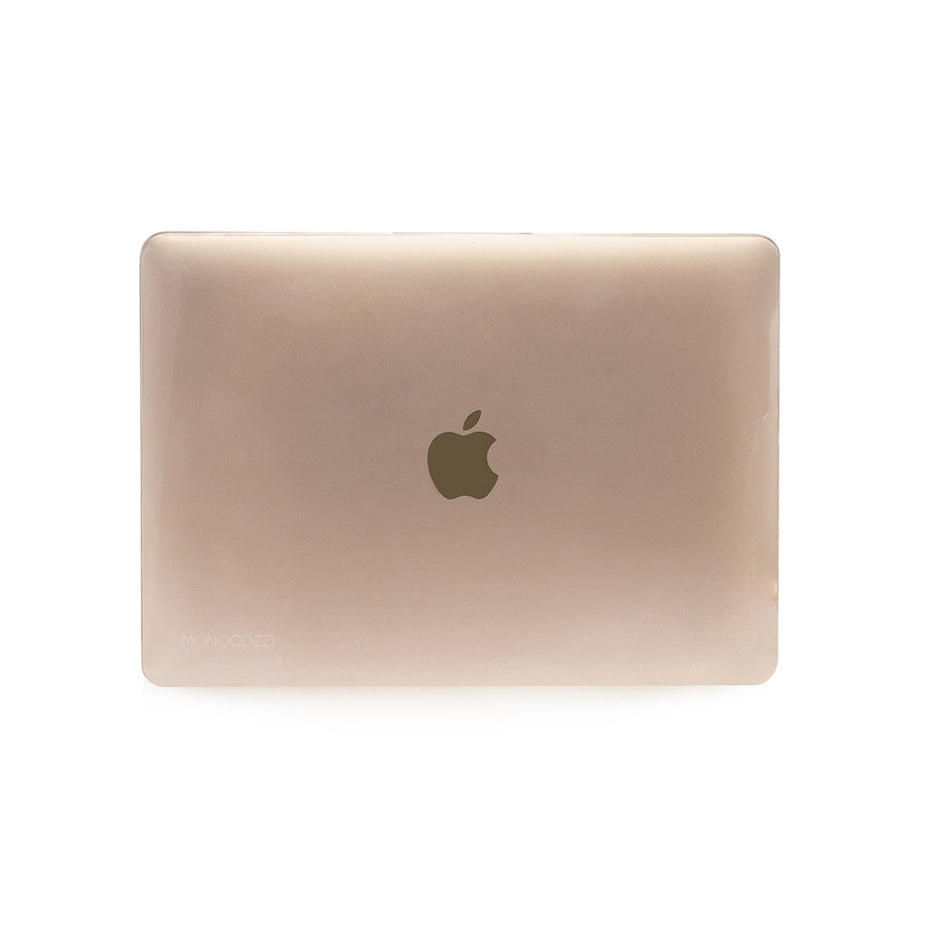 LUCID | Transparent hard shell case for MacBook 12 '' Glossy - Transparent