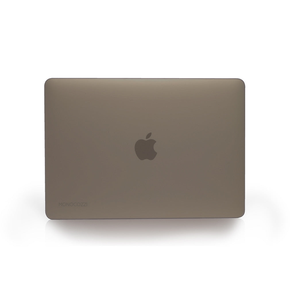 LUCID | Transparent hard shell case for MacBook 12 '' Matte - Black