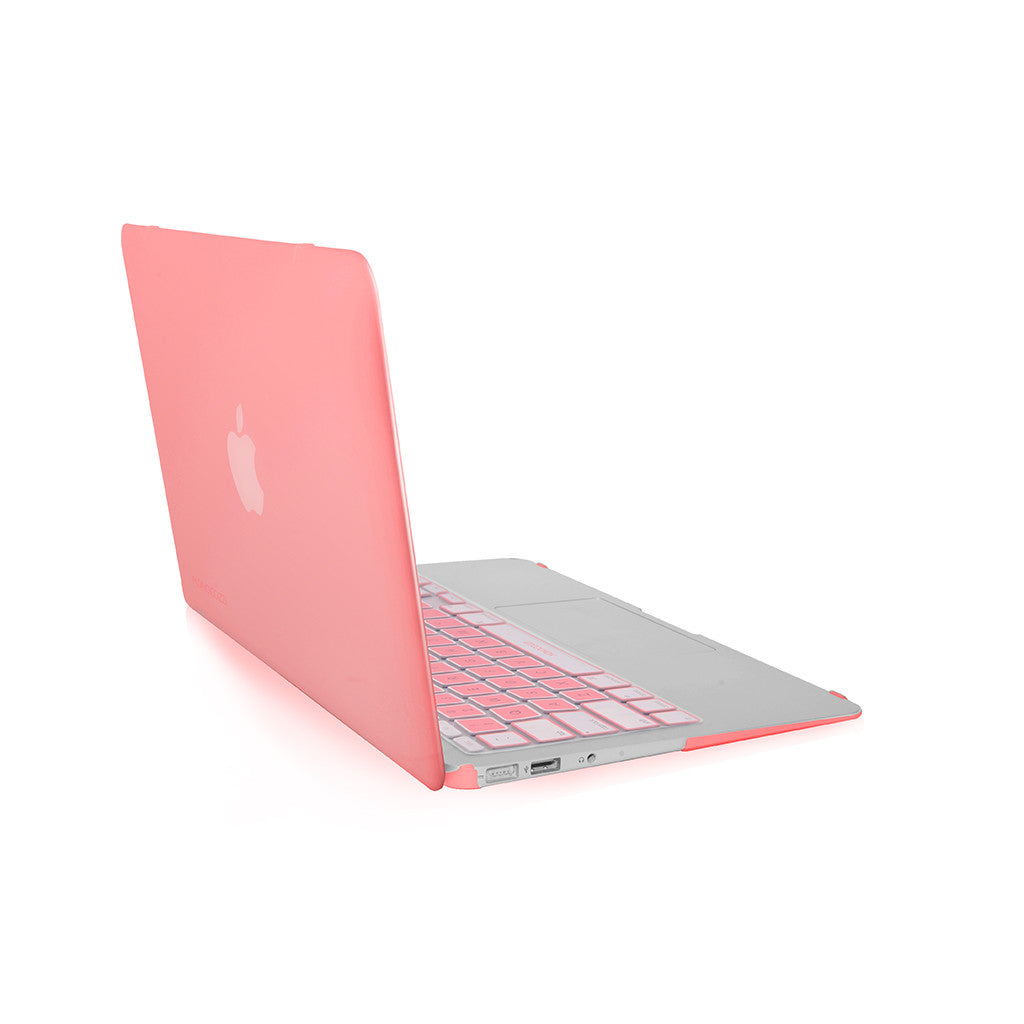 "LUCID | Translucent hard shell case for MacBook Air 11"" - Pink"