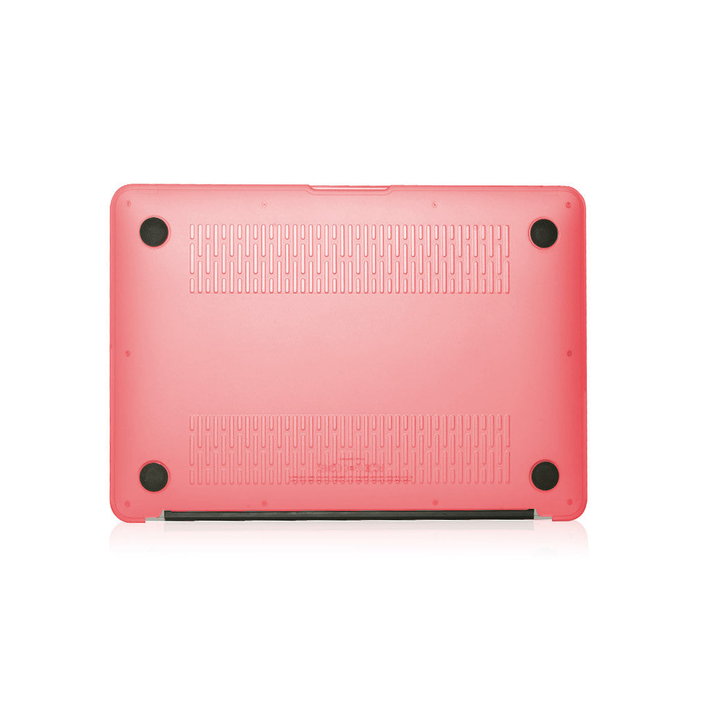 "Lucid | Translucent hard shell case for MacBook Air 13"" - Pink"