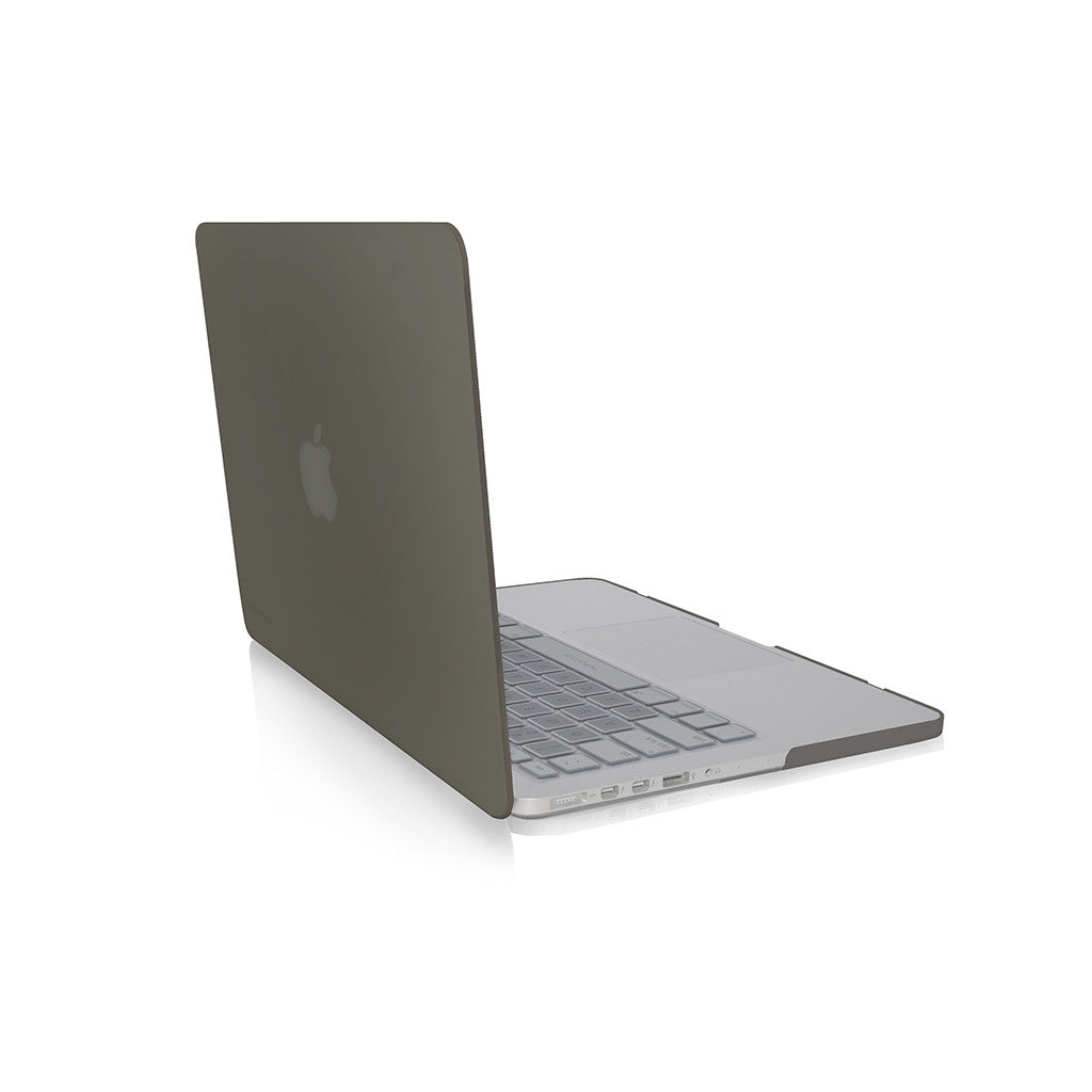 "LUCID | Translucent hard shell case for MacBook Pro 13"" Retina - Smoke"