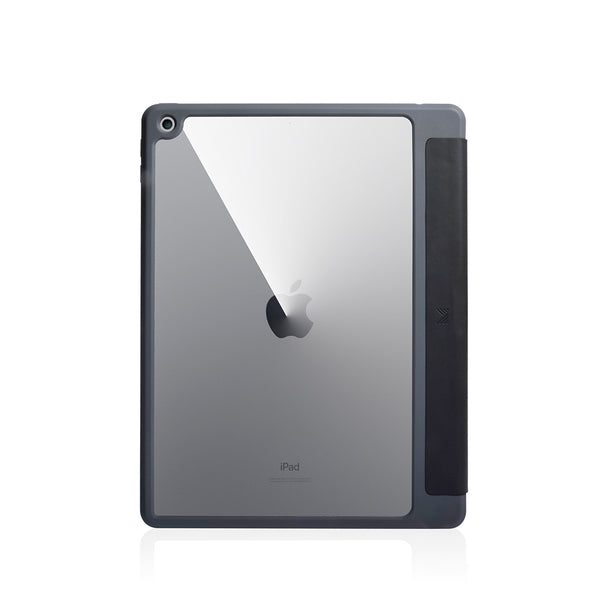 Lucid Folio|Ultra Light Full Protection Folio Case for iPad 10.2 w/ Apple Pencil Slot - Charcoal