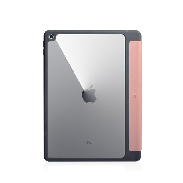 Lucid Folio|Ultra Light Full Protection Folio Case for iPad 10.2 w/ Apple Pencil Slot - Coral