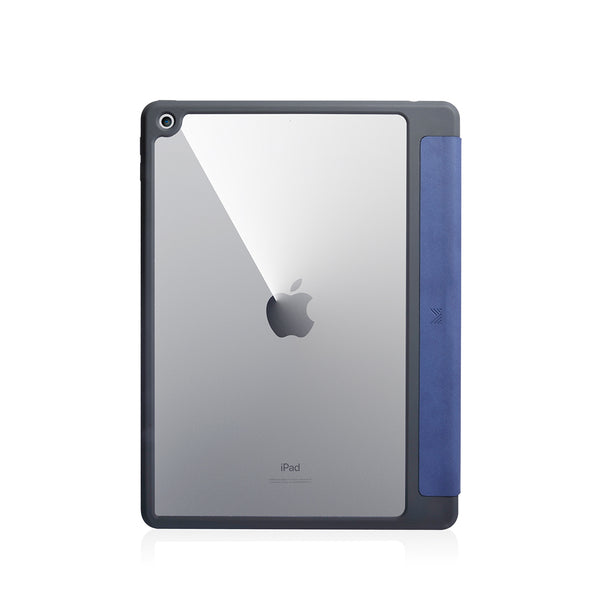 Lucid Folio|Ultra Light Full Protection Folio Case for iPad 10.2 w/ Apple Pencil Slot - Navy