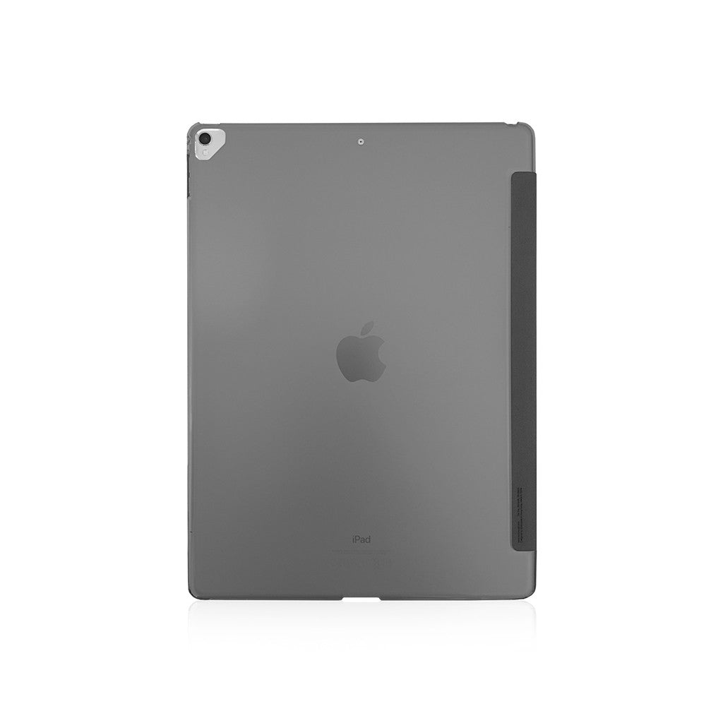 "LUCID FOLIO | Ultra Slim Hard Flip for iPad Pro 12.9"" w/ Auto On-Off (2017) - Charcoal"