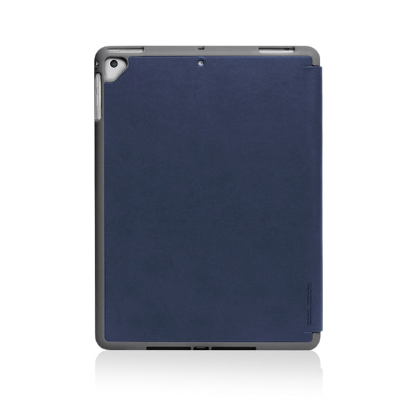 LUCID PLUS FOLIO | Shock Resistant Folio Case for (2018) 9.7-inch iPad with Apple Pencil Slot - Navy