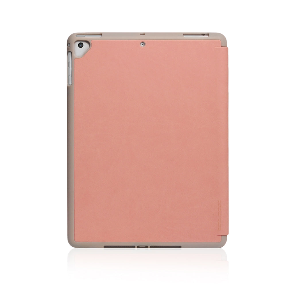 Lucid Plus Folio | Shock Resistant Folio Case for (2018) 9.7-inch iPad with Apple Pencil Slot - Coral