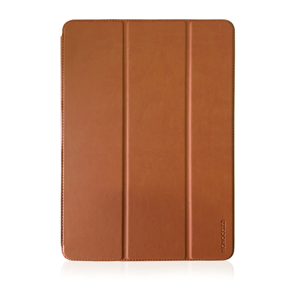LUCID FOLIO |  Ultra Slim Hard Flip Case for iPad Pro 10.5-inch w/ Auto On-Off  - Tan