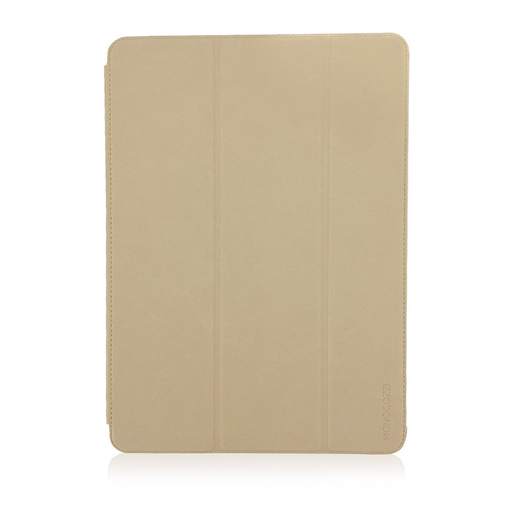 LUCID FOLIO |  Ultra Slim Hard Flip Case for iPad Pro 10.5-inch w/ Auto On-Off  - Cream
