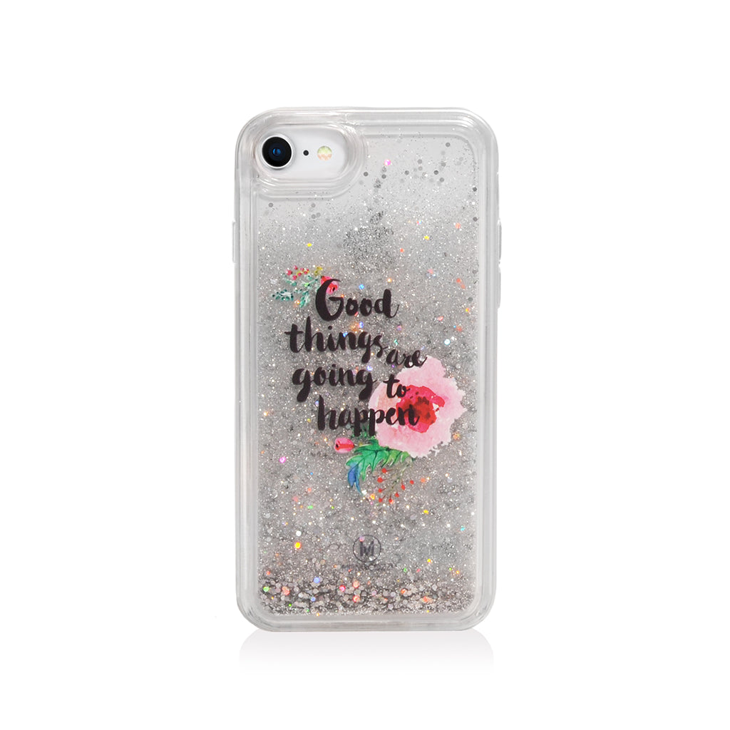 Pattern Lab | Liquid Glitter Case for iPhone 8/ 7/ 6s /6 - Good Things