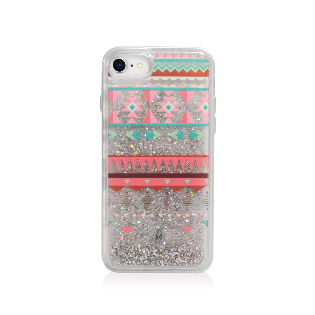 Pattern Lab | Liquid Glitter Case for iPhone SE/ 8/ 7/ 6s /6 - Triangles