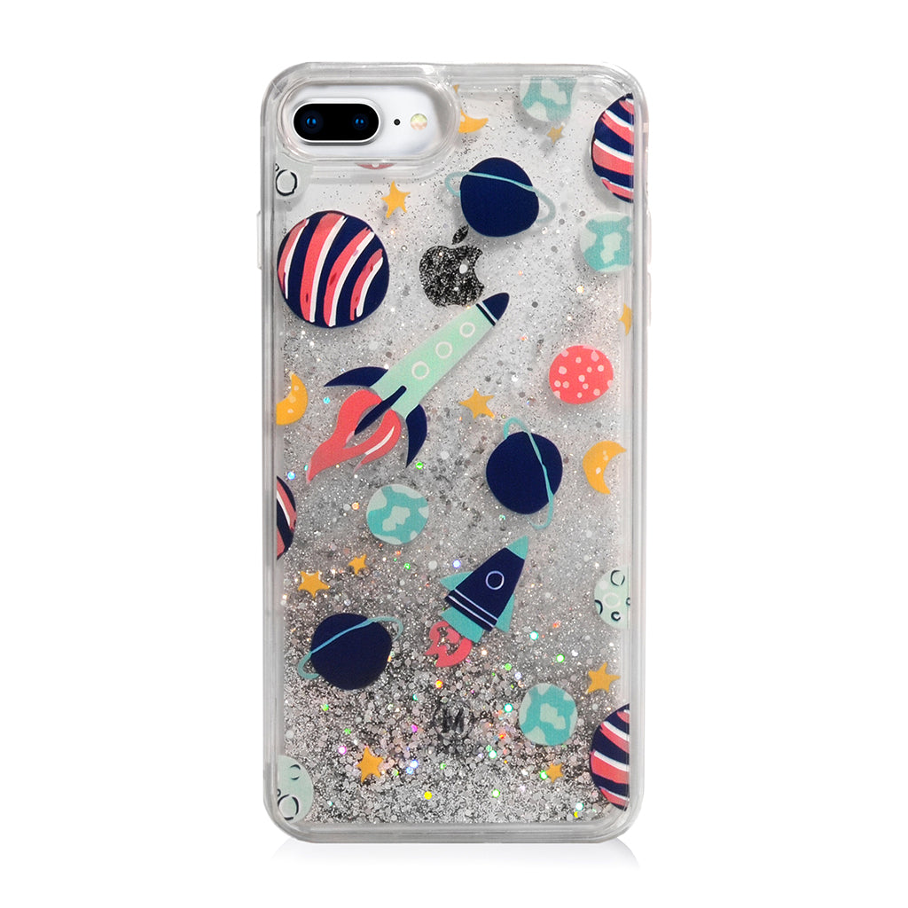 Pattern Lab | Liquid Glitter Case for iPhone 8 Plus/ 7 Plus/ 6s Plus/ 6 Plus - Space