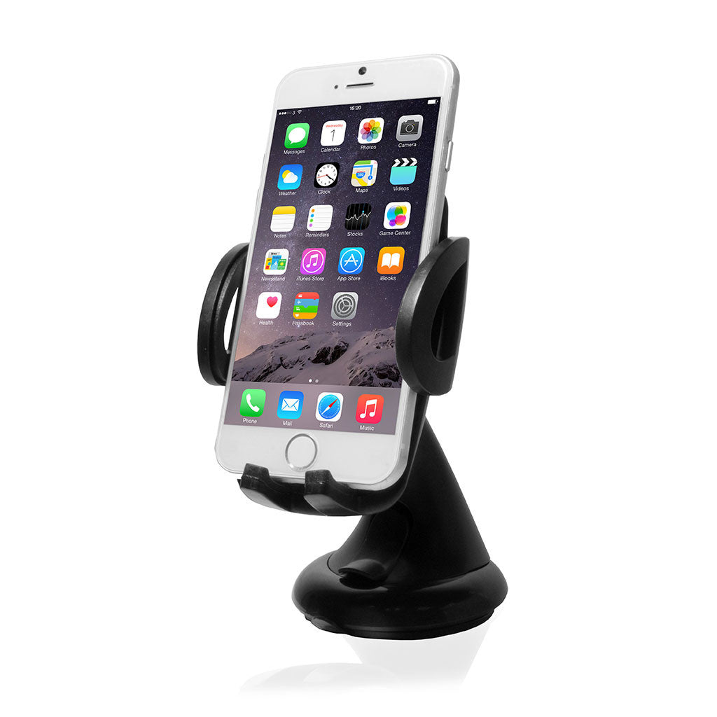 AUTOMOTIVE | Dashboard and Windshield Mount Mini with spring holder for Smartphones