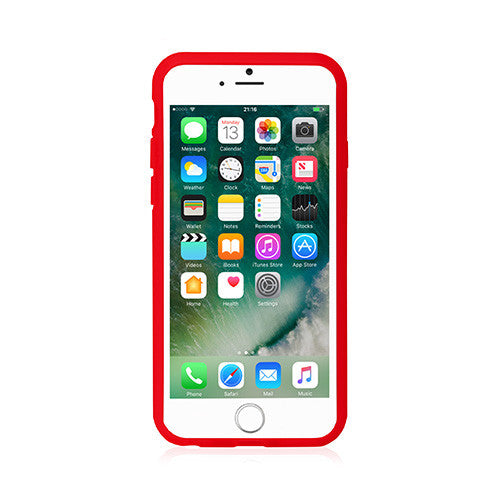 Lucid | Shock Protection Case for iPhone 8 Plus/ 7 Plus/ 6s Plus/ 6 Plus - Red