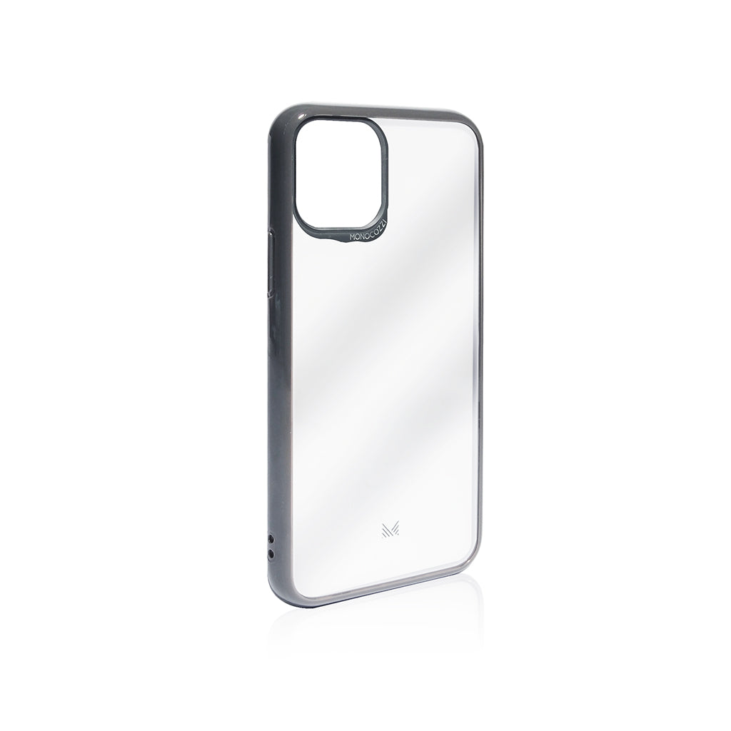 LUCID|Acrylic Back Cover with Hybrid TPU Bumper for iPhone 11 / 11 Pro / 11 Pro Max - Charcoal