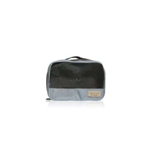 Bon Voyage | Travel Bags 4 in 1 Set ( Small Apparel Bag, Large Apparel Bag, Shoes Bag, Zipper Pouch) - Charcoal