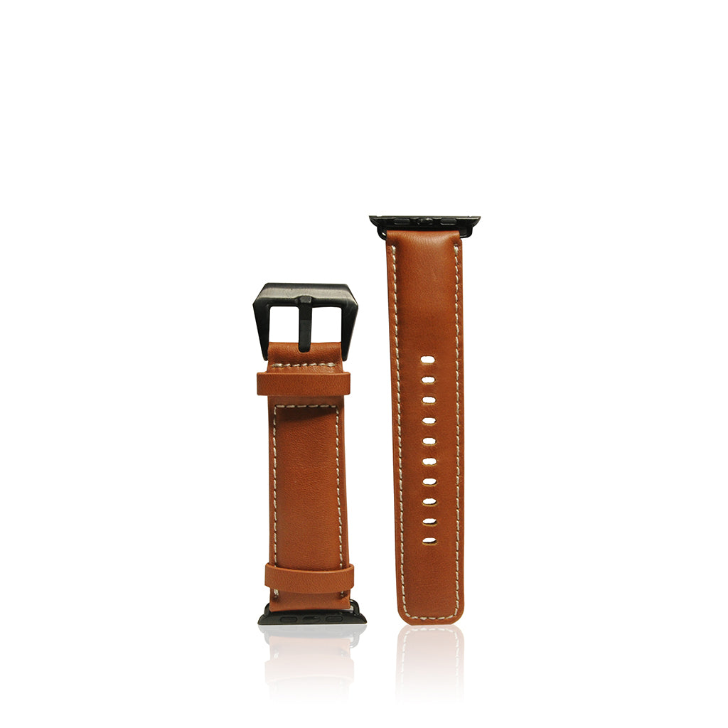 Exquisite | Vintage Leather Strap for Apple Watch 42/44mm - Tan