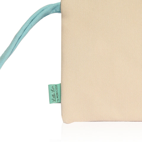 Little Lon x MONOCOZZI | A6 Canvas Zipper Pouch - Ice Cream