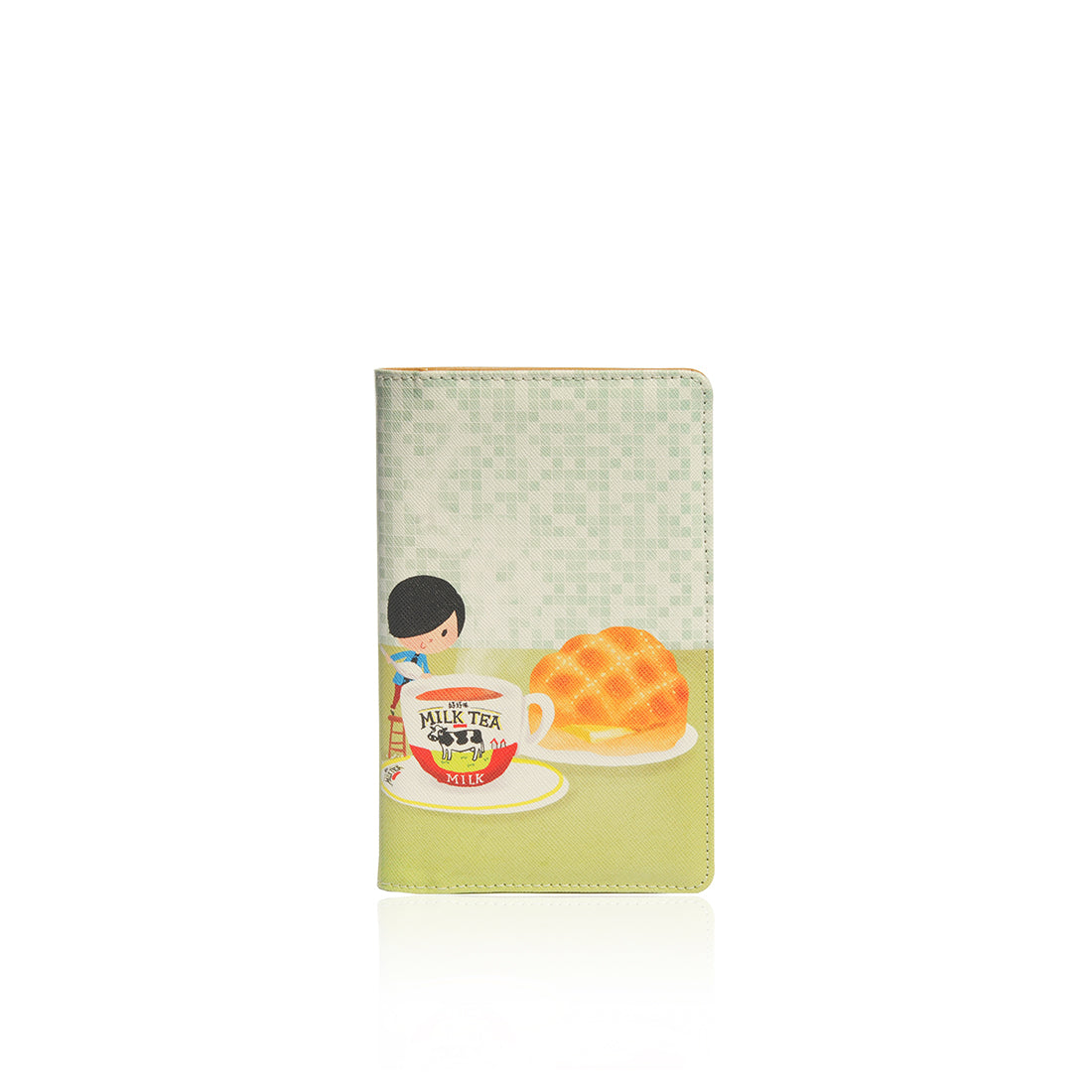 Little Lon x MONOCOZZI | Passport Holder  - Milktea