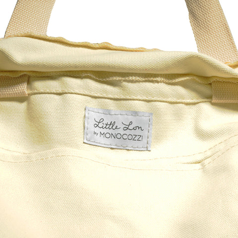 Little Lon x MONOCOZZI | Canvas Tote Bag - Ice Cream