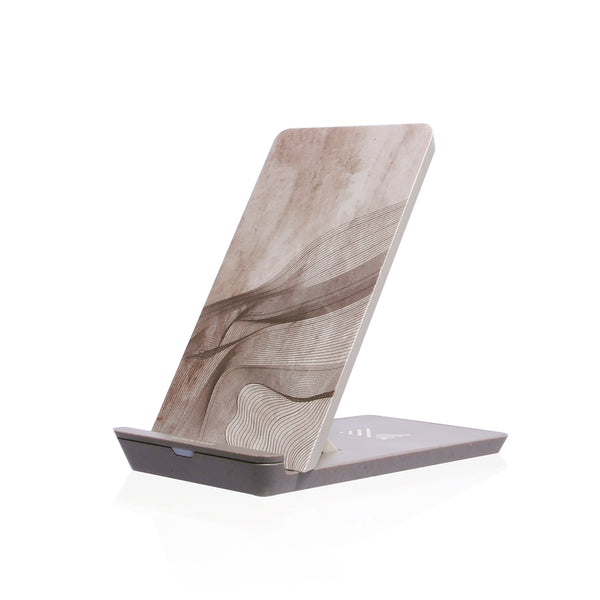 MONOCOZZI | Wireless Charging Stand Pad - Cream