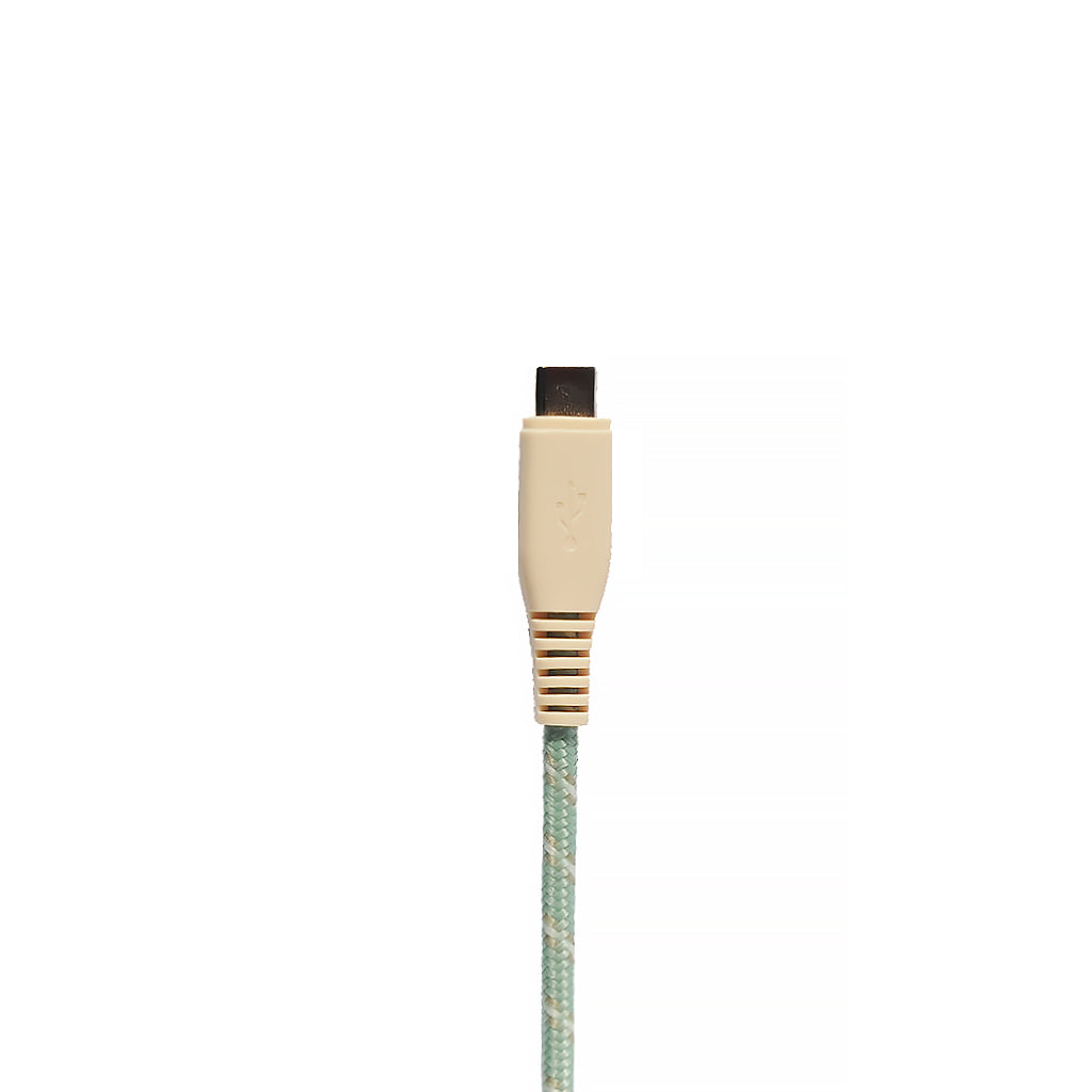 Motif | Apple Certified Braided USB-C to Lightning Sync and Charge Cable 100cm - Green