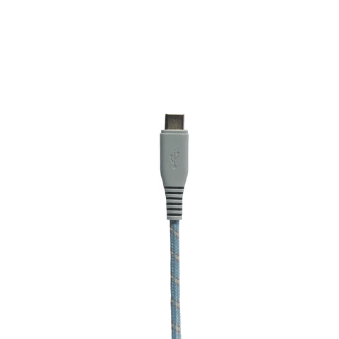 Motif | Apple Certified Braided USB-C to Lightning Sync and Charge Cable 25cm - Charcoal