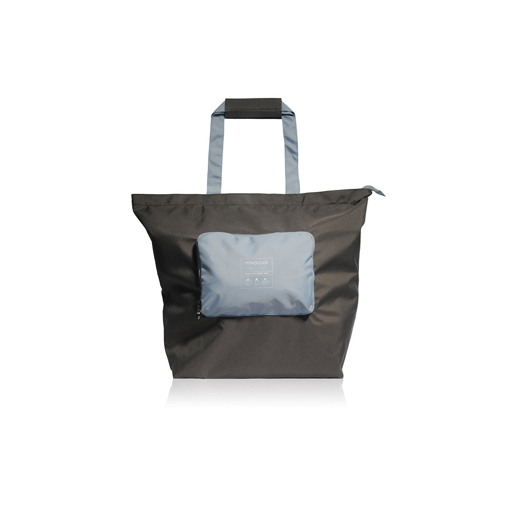 Bon Voyage | Traveler Foldable  Spare Bag (Large) - Charcoal