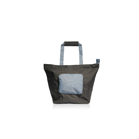 Bon Voyage | Traveler Foldable  Spare Bag - Charcoal