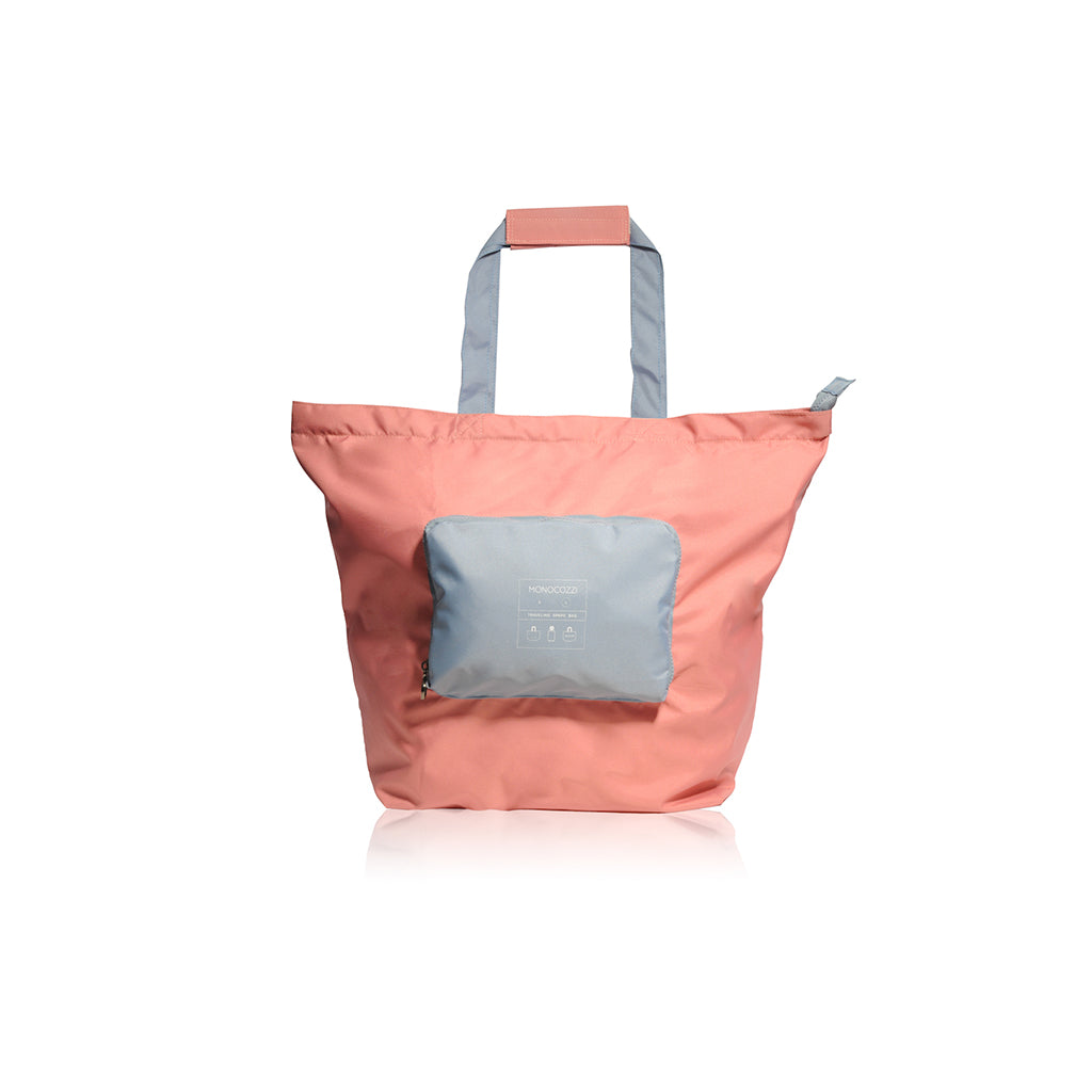 Bon Voyage | Traveler Foldable Spare Bag (Large) - Coral