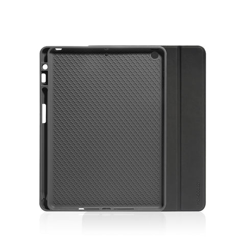 Lucid Plus Folio | Shock Resistant Folio iPad Case with Apple Pencil Slot - Charcoal