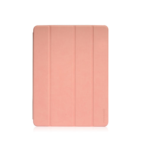 Lucid Plus Folio | Shock Resistant Folio iPad Case with Apple Pencil Slot - Coral