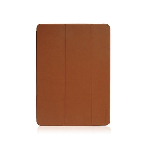 LUCID FOLIO |  Ultra Slim Hard Flip Case for iPad Pro 11-inch (2018) w/ Auto On-Off  - Tan