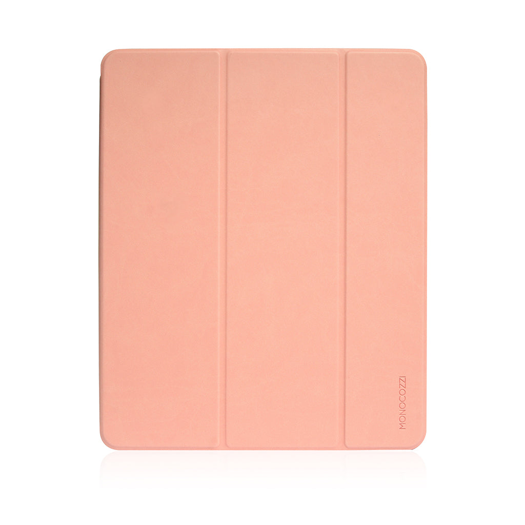 "Lucid Plus Folio | Shock Resistant Folio Case with Apple Pencil Slot for iPad Pro 12.9""(2018) - Coral"