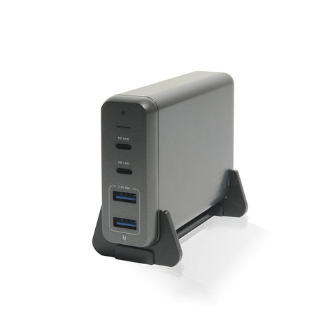 Moxie | 75W Power Cuboid (Supports USB-C MacBook Pro and the iPhone USB-C Fast Charge)