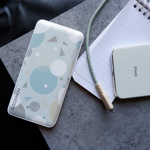 [For Hong Kong Only] Pattern Lab | 10000mAh PD 18W QC3.0 Powerbank - Geometric