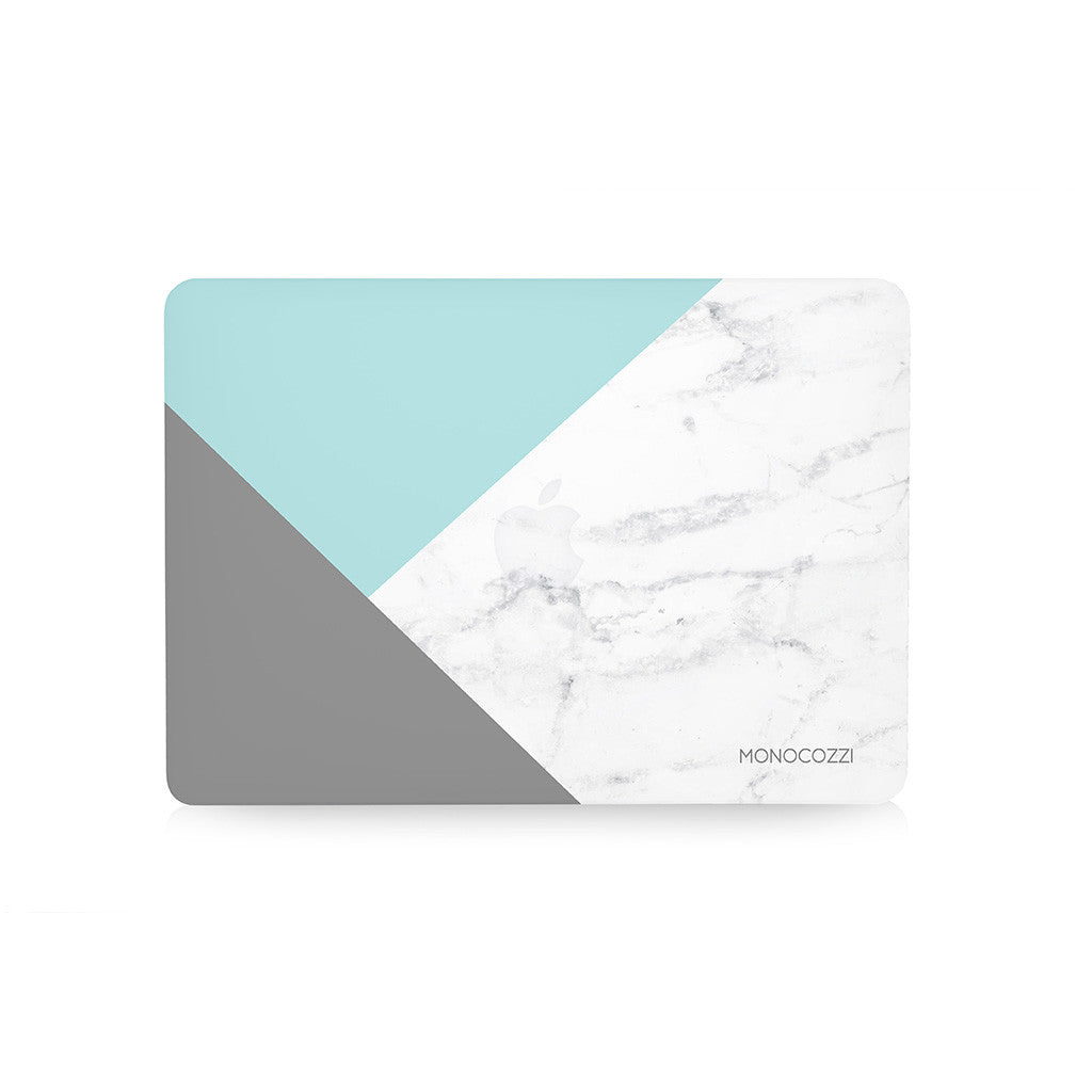"Pattern Lab | Hard Case for Macbook Air 13"" - Marble (Tiffany)"