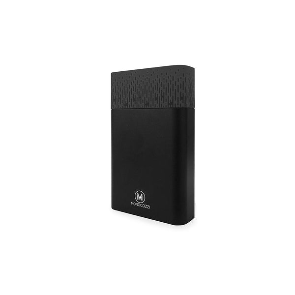 [For Hong Kong Only] MOTIF | Aluminium Dual Output 10050mAh Powerbank - Black