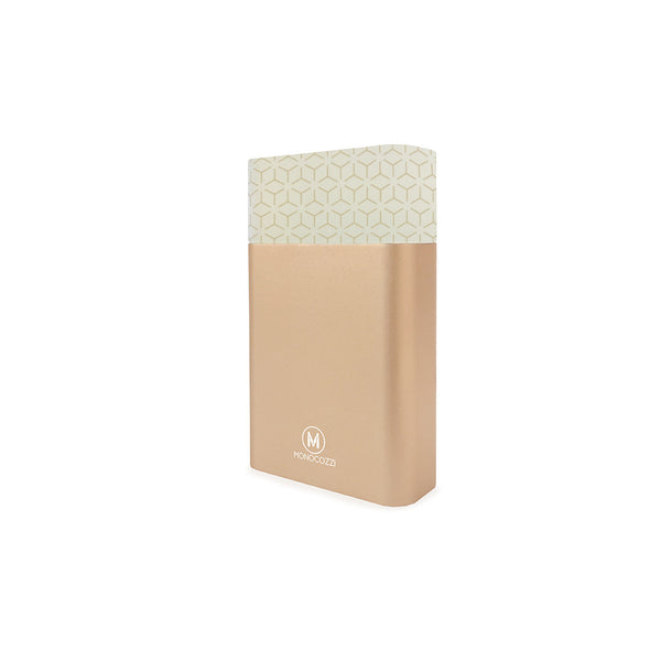 [For Hong Kong Only] MOTIF | Aluminium Dual Output 10050mAh Powerbank - Gold