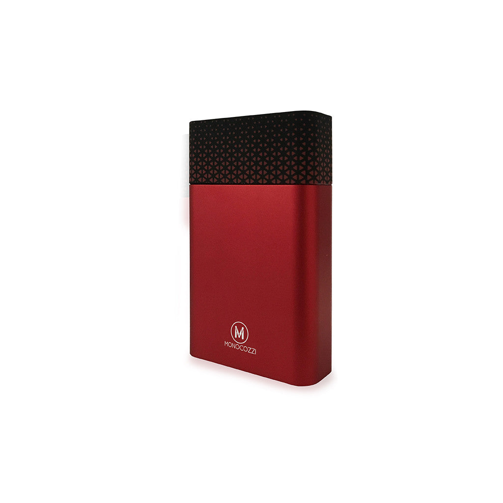 Motif | Aluminium Dual Output 10050mAh Powerbank - Red
